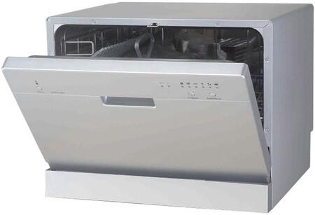 "Sunpentown SD2201S 22"" Countertop Full Console Dishwasher"