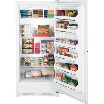 GE FUF21SVRWW Freestanding Upright Freezer |Appliances Connection