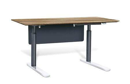 Unique Furniture 7402XX Height Adjustable Sit Stand Desk 71""
