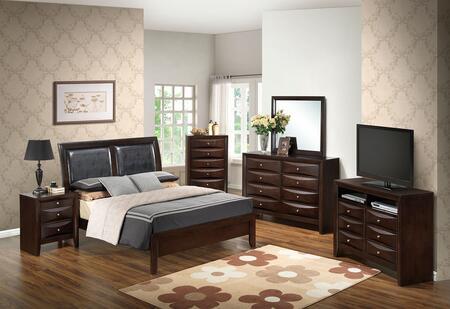 Glory Furniture G1525AKBDMNCHTV2 G1525 King Bedroom Sets