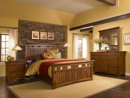 Broyhill ARTISANRIDGEBEDCKSET4 Artisan Ridge Bedroom Sets