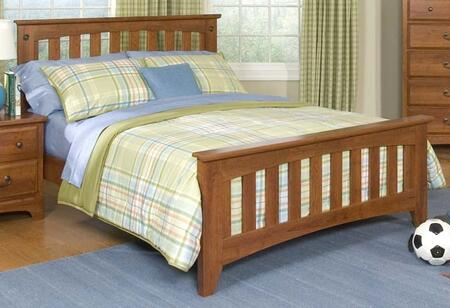 Standard Furniture 4853A City Park Kids Series Childrens Twin Size Panel Bed
