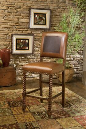 Ambella 03511510001 Residential Leather Upholstered Bar Stool