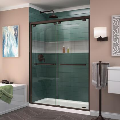 DreamLine Encore Shower Door RS50 06 B RightDrain