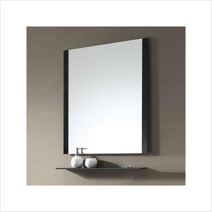 Avanity CONTEMPOM30BK Contempo Series Rectangular Portrait Bathroom Mirror