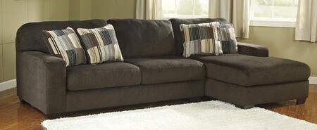 Milo Italia MI-5749TMP Zachary Sectional Sofa with Right Arm Facing Corner Chaise and Left Arm Facing Sofa in