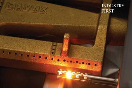 Cast Brass Burner with Briquettes