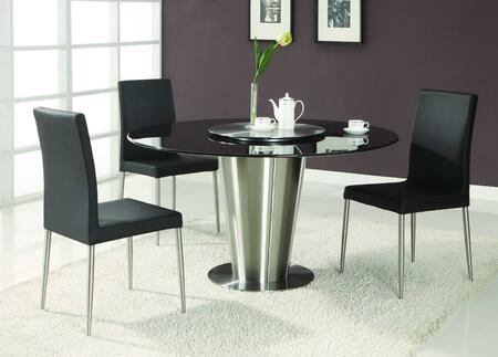 Chintaly DAWN-DTBLKSET Daisy Dining Room Sets