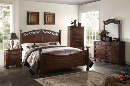Acme Furniture 22764CK5PC Manfred Bedroom Sets