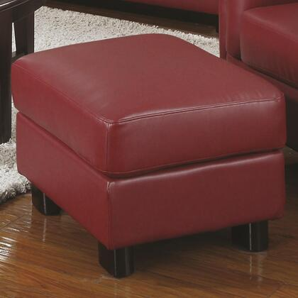 Coaster 504474 Sawyer Series Contemporary Bonded Leather Ottoman