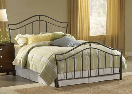 Hillsdale Furniture 1546BKR Imperial Series  King Size Panel Bed
