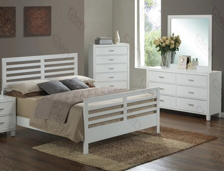 Glory Furniture G1275CKB2DM G1275 King Bedroom Sets