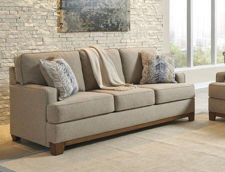 Benchcraft Hillsway Fabric Sofa 3410438 Pebble