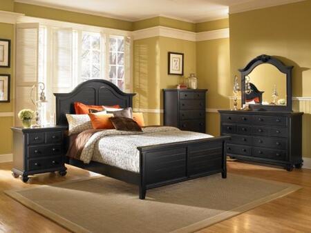 Broyhill MITRRENBEDQ Mirren Pointe Series  Queen Size Panel Bed