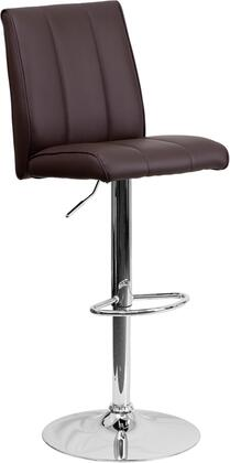 Flash Furniture CH122090BRNGG Residential Vinyl Upholstered Bar Stool