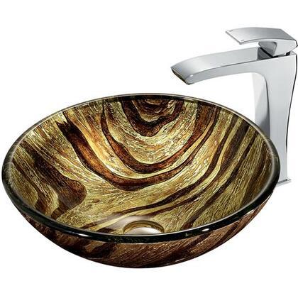 Vigo VGT178 Chrome Bath Sink