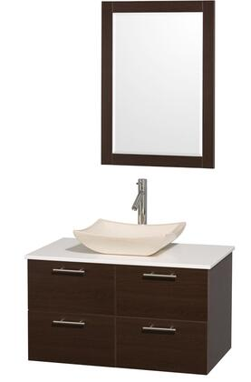 Wyndham Collection WCR410036ESWHGS2