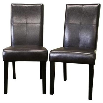 Wholesale Interiors 2366BROWN Tressa Series  Dining Room Chair