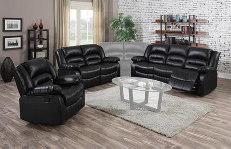 Myco Furniture 1036SBKSET