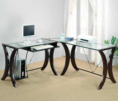 Coaster 800446 Contemporary L-Shape Office Desk