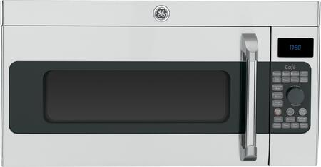 GE Cafe CVM1790SSSS 1.7 cu. ft. Over the Range Microwave Oven with 300 CFM, 1000 Cooking Watts, in Stainless Steel