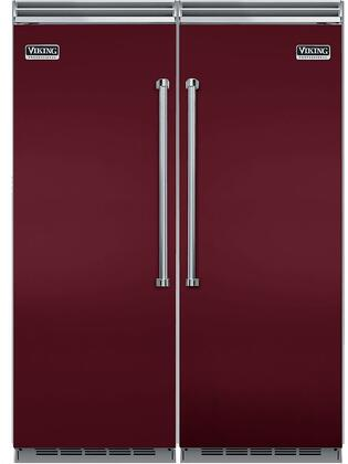 Viking 734308 5 Side-By-Side Refrigerators