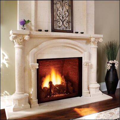 Majestic KHLDV500NV  Direct Vent Natural Gas Fireplace