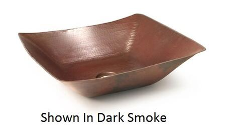 D'Vontz LV8201L15 Del Mar Copper Vessel Sink With 77% Recycled Copper, 99% Pure Copper & In