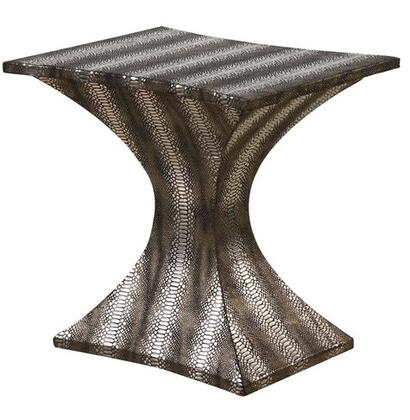 Gail's Accents 20010ET Modern Series Contemporary Round End Table