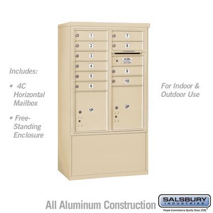 Salsbury Industries 3910DAX 10SFU f
