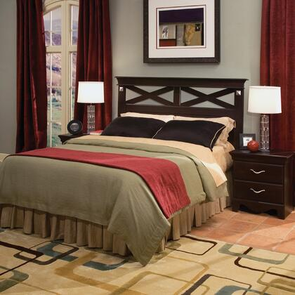 Standard Furniture 7666A City Crossings Series  King Size Panel Bed