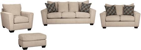 Milo Italia MI7919SLCOPUTT Carley Living Room Sets