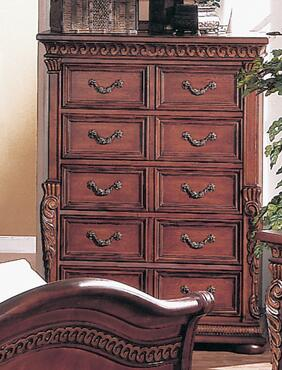 Yuan Tai 8535CH Florence Series Wood Chest