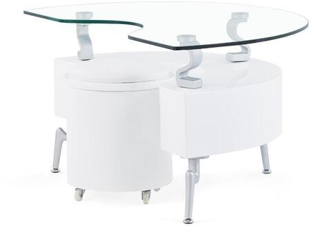 Global Furniture USA 288WHE Modern  End Table