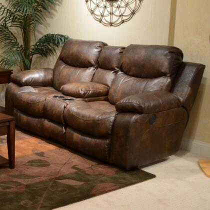 Catnapper 64319122319302319 Catalina Series Bonded Leather Reclining with Metal Frame Loveseat