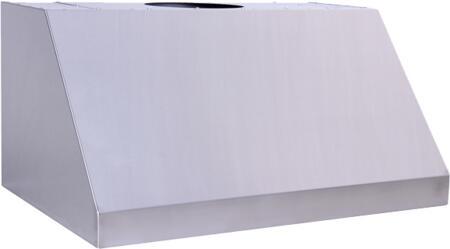"Prestige Pro Line PLBQXX300 X"" Canopy Pro Style Stainless Steel Wall-Mount BBQ Range Hood"