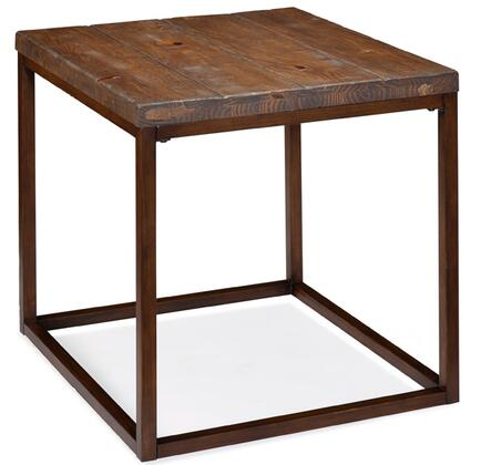 Magnussen T169003 Pinecrest Series  Rectangular End Table