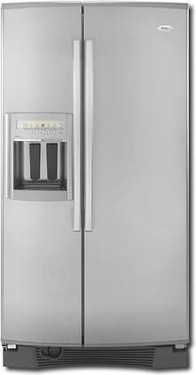 Whirlpool GS6NHAXVK Gold Series Side by Side Refrigerator with 25.6 cu. ft. Capacity in Stainless Steel
