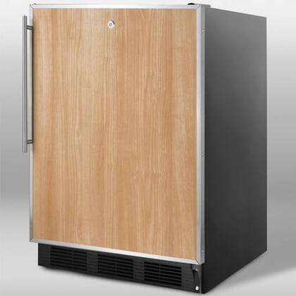 Summit SCFF55LBLFRADA  Freezer with 5 cu. ft. Capacity in Panel Ready