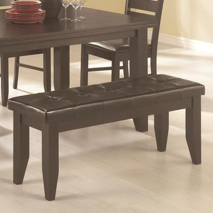 Coaster 102723 Page Series Kitchen Armless Wood Bench