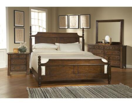 Broyhill ATTICHEIRLOOMSBEDQSET Attic Heirlooms Bedroom Sets
