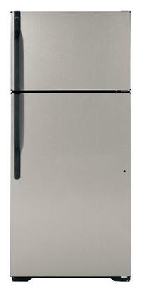 Hotpoint HTJ17CBCSA Freestanding Top Freezer Refrigerator with 16.5 cu. ft. Total Capacity 2 Wire Shelves 4.07 cu. ft. Freezer Capacity