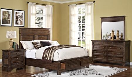 New Classic Home Furnishings 00186WBDMN Grandview California