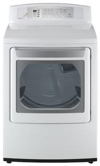 "LG DLE4801W 27"" Electric  Electric Dryer  Appliances Connection"