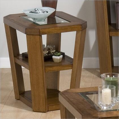 Jofran 0537 Contemporary Square 0 Drawers End Table