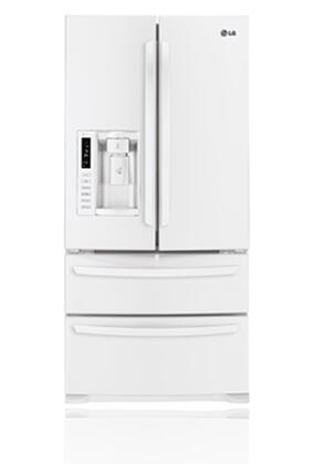 LG LMX25988SW  French Door Refrigerator with 24.7 cu. ft. Total Capacity 4 Glass Shelves |Appliances Connection