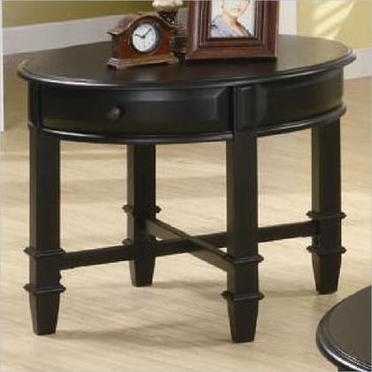Coaster 701177 Traditional Wood  End Table