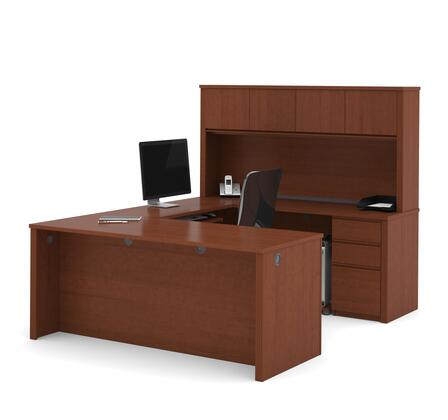 Bestar Furniture 99853 Prestige + U-shaped workstation