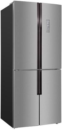 Avanti FF4D15H3S 31u0026quot; Stainless Steel 4 Door French Door Refrigerator  ...