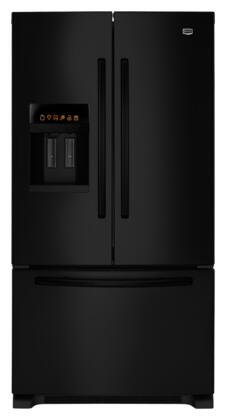 Maytag MFI2665XEB Ice20 Series  French Door Refrigerator with 25.5 cu. ft. Capacity in Black
